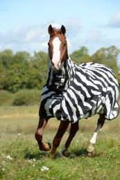 Bucas  Buzz-off Zebra Full Neck Big Neck, 145