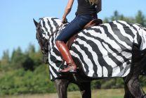 Bucas  Buzz-Off Riding Zebra, 155/XL