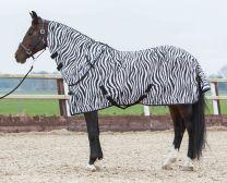 Harry's Horse fliegedecke mit seperatem Halsteil, zebra