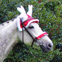 QHP Rentiermütze für Pferde