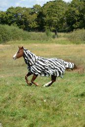 Bucas  Buzz-Off Zebra Full-Neck, 155