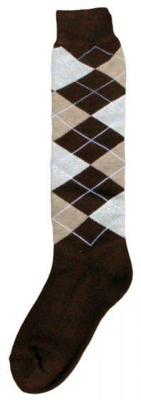 Hofman Kniestrümpfe RE 39/42 Dark Brown