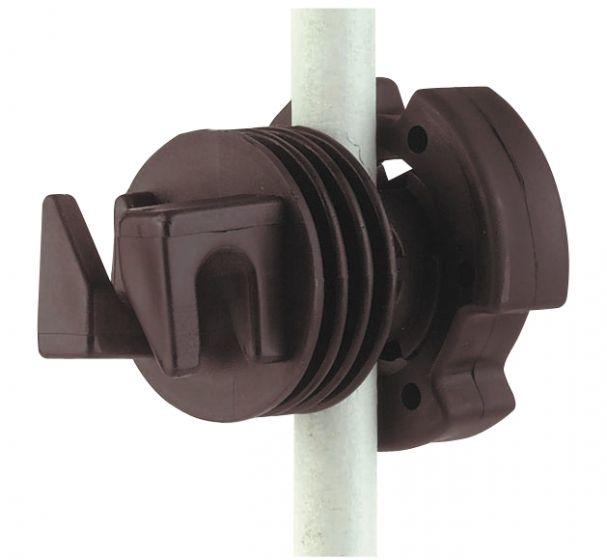 Hofman Isolator Schraube für Rundpfosten bis 12 mm
