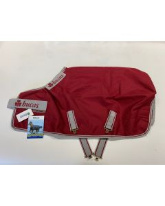 Bucas Irish Turnout Light rep Sample Red 95cm