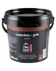 PFIFF Lederfett - gelb