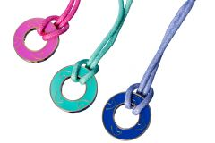 Stimmungs-Halskette Brillenband