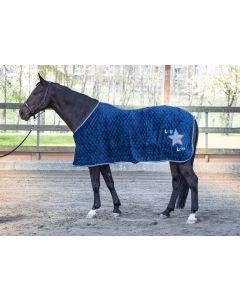 Harry's Horse Fleecedecke Loulou Ensign Blue