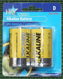 Hofman Batterie D Größe Alkaline 1,5 V.