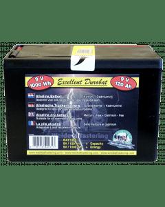 Hofman Batterie Durobat 9V / 120Ah (H11,4 x L16,6 x B11,2 cm)