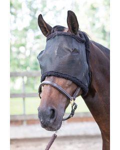 Harry's Horse Fliegenmaske ohne Ohren schwarz