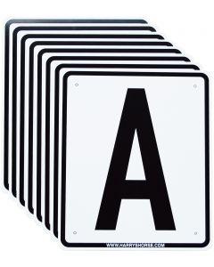 Harry's Horse Backplatten A, F, B, M, C, H, E, K.