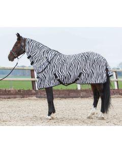 Harry's Horse Flysheet mit losem Hals, Zebra