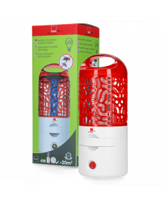 Hofman Insektenvernichter 4W LED Wiederaufladbar Outdoor & Indoor