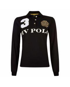 HV Polo Favouritas Eques Langarm-Poloshirt