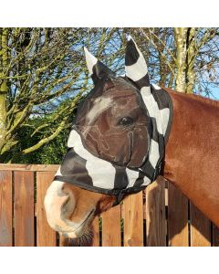 Bucas Buzz-Off Zebra Deluxe Maske mit Ohren