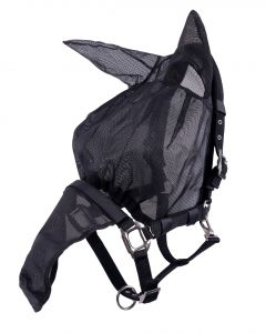 QHP Halfterfliegenhaube Kombi mit Ohren