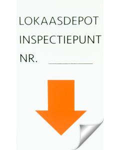 """Hofman Aufkleber """"Inspektionspunkt"""""""