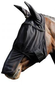 Harry's Horse Fliegenschutzmaske mit Ohren und Nasenteil