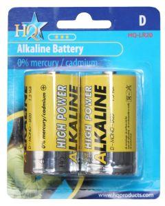 Hofman Batterie-Set Alkaline Größe: D PestGarden