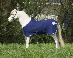 QHP Decke Fleece Ornament Falabella