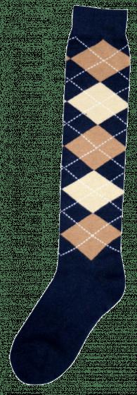 Excellent Kniestrümpfe RE d.blue / l.brown / beige 43-46