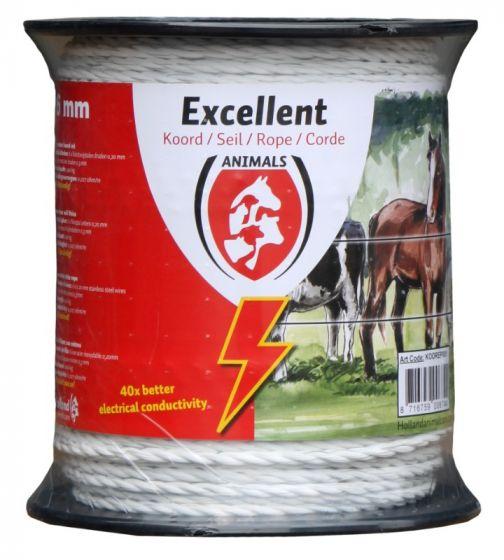 Hofman Kabel Excellent Plus 200 m / 6 mm weiß